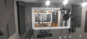 Upper Room Recording Studio at NMS