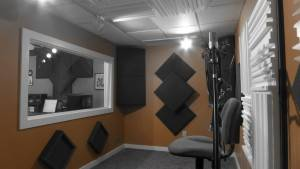 Upper Room Recording Studio at National Media Services