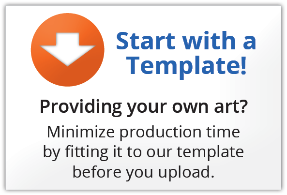 Start With A Template - ORANGE